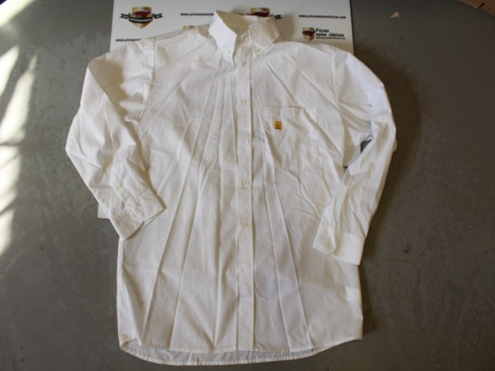 Camisa Blanca Manga Larga Talla 4
