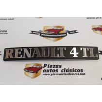 Anagrama Renault 4 TL