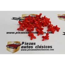 Kit De 25 Grapas Moldura Lateral Seat 127 y 131 Supermirafiori