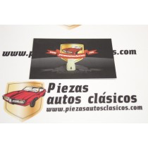 Grapa Taco Fijación Diámetro 3mm (6x6) Seat Ref:NR14211580/NR14215480