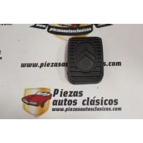 Goma pedal freno/embrague Citroen 2CV, Dyane, Ami, DS, Visa, C15 (66x46mm.)