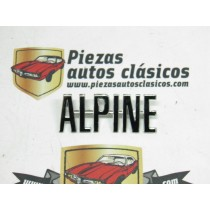 Anagrama Alpine