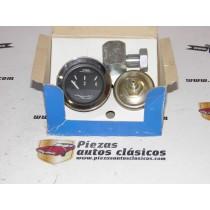 Conjunto Manómetro (presión de aceite) Completo Renault 4,5,6,7,8,9,11,12 y 19  y Citroën GS  Ref:JAEGER9516