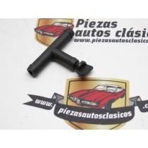 Purga Racor Plástico con sangrador  10mm.  Renault 5, Súper 5, 7, 9, 11, 12, 14,18, 21, Express