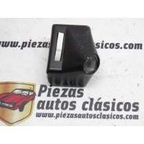 Plafón Luz Interior Lector De Mapas Renault 12 , Negro Interruptor Blanco Ref: 7702043173 / 0093630010