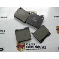 Jgo. Pastillas de freno Simca 1000 GLS, 1200 LS -GLS sistema Girling Ref: RH-5150