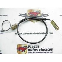 Cable de acelerador Renault 6 del 70 al 86 87cm.