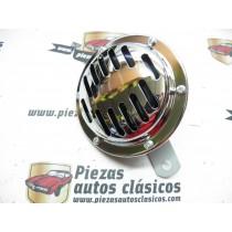 Claxon 12V cromado