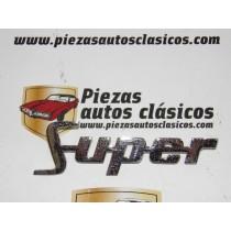 Anagrama Super Renault 4