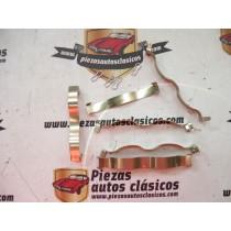 Kit fleje antiruido pastillas de freno  Renault 4,5,12,14,21,25, Fuego