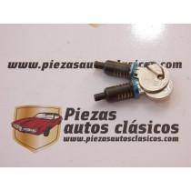 Pareja de bombín de cerradura Renault 4, 6 y 12 antiguo (misma llave)