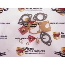Juego completo juntas de carburador 32 DISTA / DITA 3 / PDIST Renault 8, 10, Florida y Caravelle
