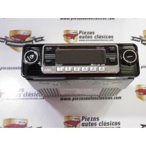 Radio CD RETRO NEGRA