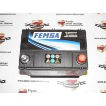 Batería FEMSA 12v 45Ah 300A (219x135x225) Específica Para Renault