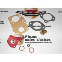 Kit reparación carburador Solex 28 Seat 600