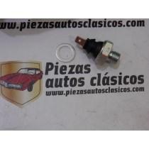 Manocontacto presión de aceite Seat 800, 850, 127 C/CL/CLX/LS/N, Fura, 133, 1500 B, Ibiza 903 cc, Marbella 850 - 903 cc, Panda