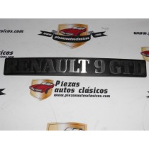 Anagrama trasero Renault 9 GTD Ref: 7700713106