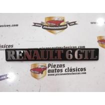 Anagrama  Renault 6 GTL  Ref: 7700108191
