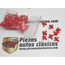 Kit de 50 grapas de moldura 5mm Renault 4 y citroën  Ref:7701000966