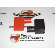 Pareja Cubre Bornes De Batería En Ángulo (52x35mm)