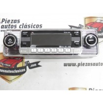 Radio CD RETRO CROMADA