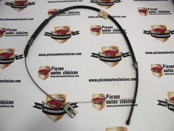 Cable freno de mano derecho Renault 18 5 velocidades 958 mm