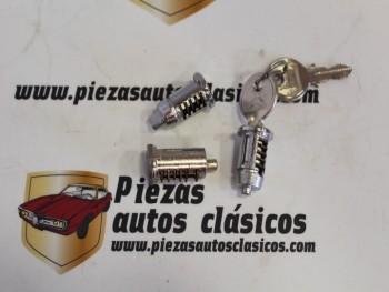 Juego Bombines Cerradura Originales Citroën 2CV, C8 y GS Con 2 Llaves