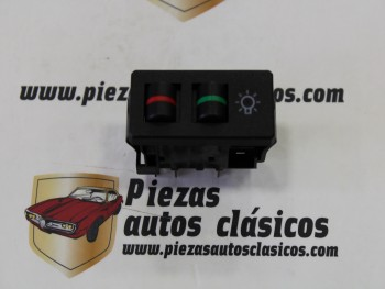 interruptor de luces Seat Ritmo 4 terminales (negro)