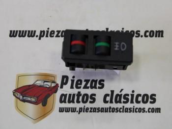 Interruptor antiniebla Seat Ritmo 2 terminales (gris oscuro azulado)