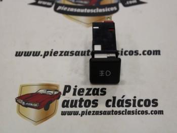 interruptor antiniebla Seat 127, Fura, Ritmo, Ronda 2 terminales (negro Mod.2)