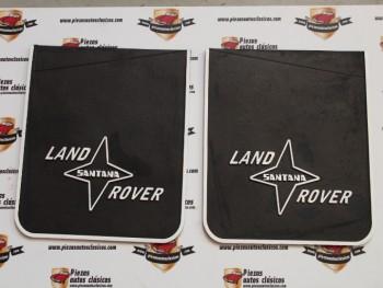 Juego De Faldillas Land Rover Santana (Letras En Blanco)