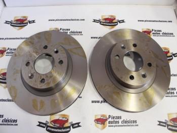 Pareja Discos De Freno Renault 18 Turbo, Fuego Turbo , 25 y Espace I/II ( 259x20,2 ) Ventilados Ref: 7700715081