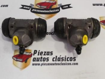 Pareja Bombines De freno Traseros Renault 25 y 20 22mm, Bendix Ref: 7701024247 / 7701024248