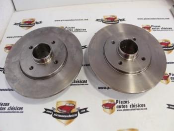 Pareja Discos De Freno Traseros Renault 19 ( 238x8) Ref: SACHS 1150475