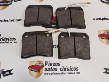 Juego Pastillas De Freno Traseras Jaguar XJ12 , Daimler , Peugeot 404.. (sistema lucas-girling) Ref:203600