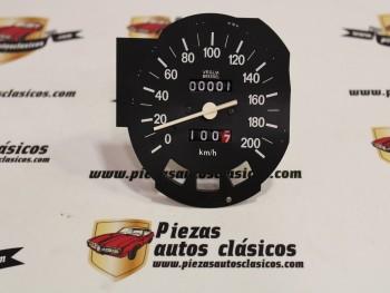 Velocímetro cuentakilómetros Seat 132 motor 1600 Ref: VEGLIA 413814