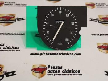Velocímetro cuentakilómetros Simca 1200 160 km/h Ref: VEGLIA 411875