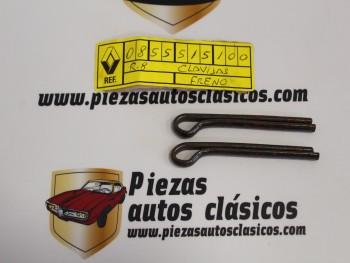 Juego 2 Pasadores Pinza De Freno Delantera Renault 8 y 10 Ref:0855515100