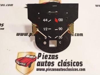 Indicador temperatura y combustible Seat 132 Restyling Ref: Veglia 40.10.02