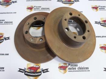 Pareja Discos De Freno Simca 1200 (antiguo stock)