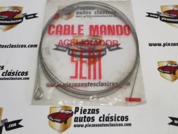 Cable Acelerador Ebro Siata Tambien Válido Para Seat 850