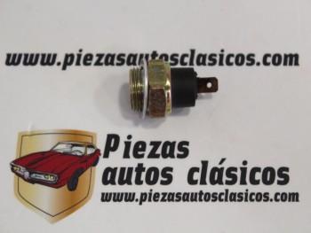 Manocontacto Presión De Aceite Renault Super 5, 9, 11, 25 Turbo Ref:7700717982