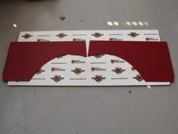 JUego De 2 Paneles Traseros Tapizados Seat 600 E y L Granate (Antiguo Stock)