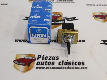 Interruptor Luces Renault Alpine A110 y 1300 Ref:Femsa CPB8-4