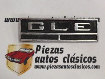 Anagrama GLE Simca 1200 Metálico (109x30mm) Antiguo Stock