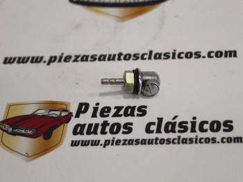 Surtidor limpiaparabrisas  Seat 600(DyE), 850 y Coupe  Citroen 2CV, Avia, Barreiros, Ebro, Pegaso, Land Rover  Transpar 502