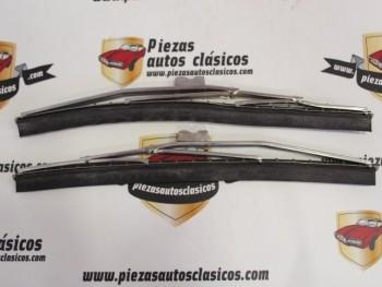 Juego Escobillas Limpiaparabrisas Seat 600 N Desde 1955-1959 y Seat 1400 A y B Desde 1952-1959 (28cm)