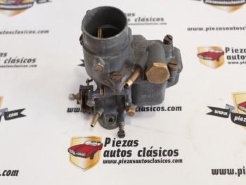 Carburador Weber 28 ICP-1  Seat 600  Reconstruido (intercambio)