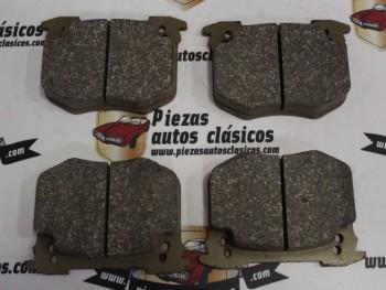 Juego Pastillas De Freno Peugeot 505 y 604 y Renault 5 Turbo 1.4 (Sin Avisador De Desgaste)