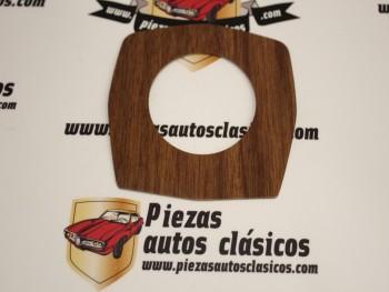 Chapa metálica simil madera para mando de luces renault 8, 10 Alpine A110 Ref:7701000366